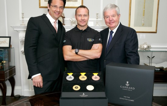 Invictus Games Medals Designed by Garrard Unveiled
