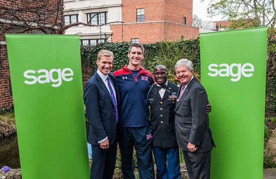 Sage Announces Multi-Year Partnership with Invictus Games