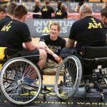 Prince Harry launches a new international sporting event for wounded, injured and sick service personnel today