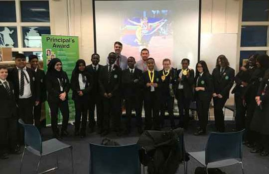 Invictus Games Foundation Supports Bethnal Green Academy's 'Celebrating Difference Week'
