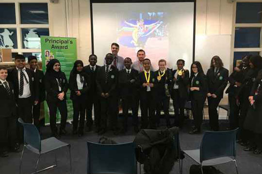 666a45b346 Invictus Games Foundation Supports Bethnal Green Academy's 'Celebrating  Difference Week' – Invictus Games Foundation