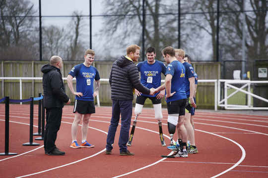 On the first day of the UK team trials, hopefuls tried out athletics - both track and field events (photo credit: Duncan Nicholls)