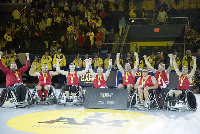 denmark takes gold at wheelchair rugby finals at invictus games