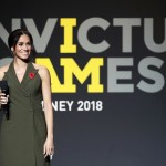 HRH The Duchess of Sussex leads the applause for friends and family at Invictus Games Sydney 2018 Closing Ceremony