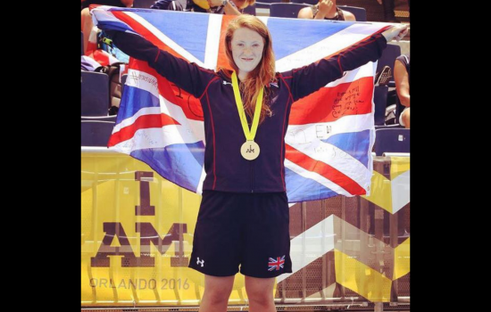 Former Invictus Games competitor, Zoe, ran the London Marathon in 2019