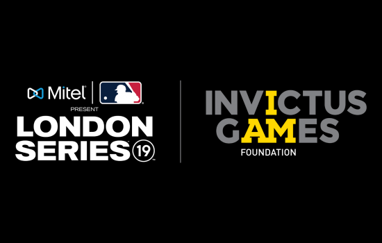 Invictus Games Foundation announced as an Official Charity Partner of the Mitel and MLB Present London Series 2019