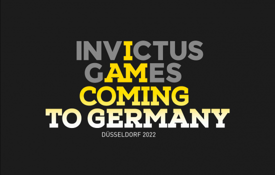 HRH The Duke of Sussex announces the Invictus Games 2022 will be held in Düsseldorf, Germany