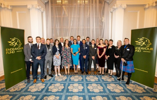Inspirational veterans win recognition at Endeavour Fund Awards