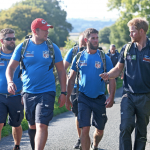 The Duke of Sussex launches The Walk of Oman with Military Charity Walking With The Wounded
