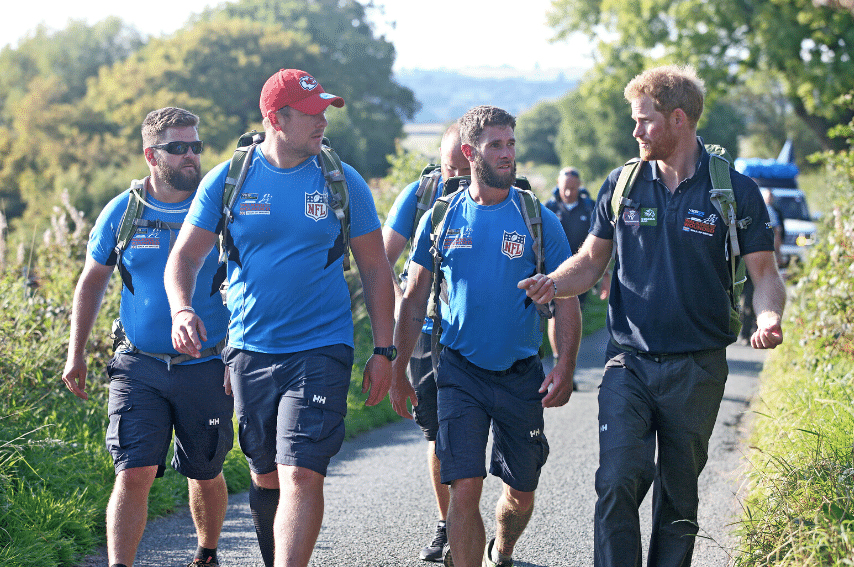 Walking with the Wounded Britain 2015