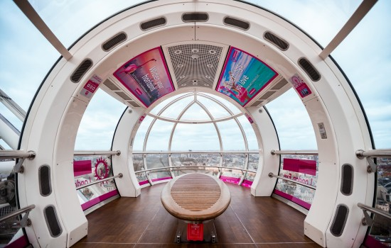 Former competitor to run a Marathon inside a London Eye pod this weekend!